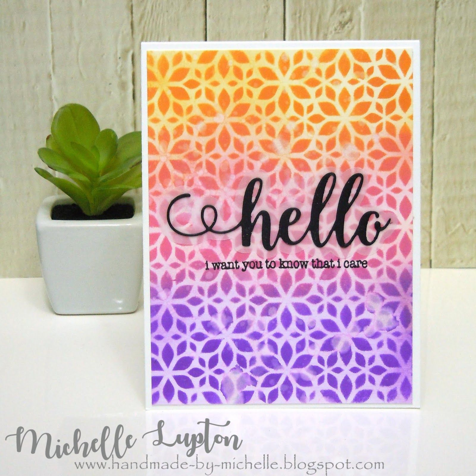 handmademichelle online card class  day 9 in 2020