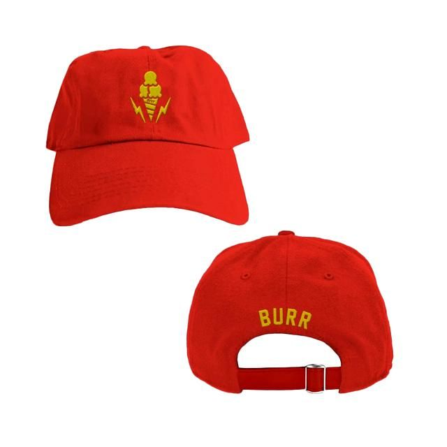 Gucci Mane Ice Cream Dad Hat (Red Edition)  dfc0aeac0b7a