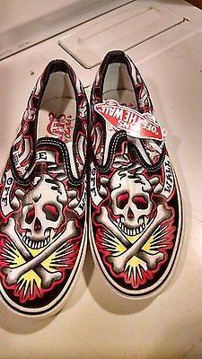 Vans size 9 Oliver Peck (er) Rare Collectible Ink Masters Skull Tattoo Shoes Kat https://t.co/lwLu7HbxAL https://t.co/ZQVQ6BZVnr