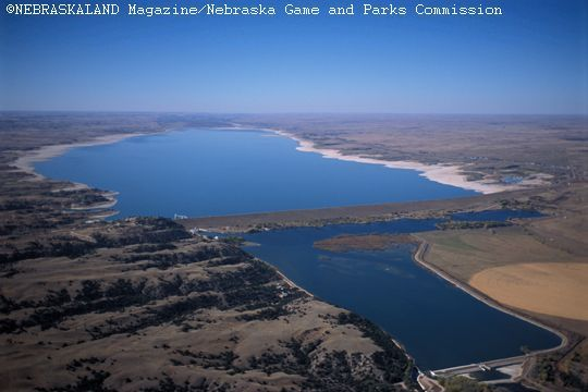Lake mcconaughy state recreation area near ogallala for Lake mcconaughy fishing