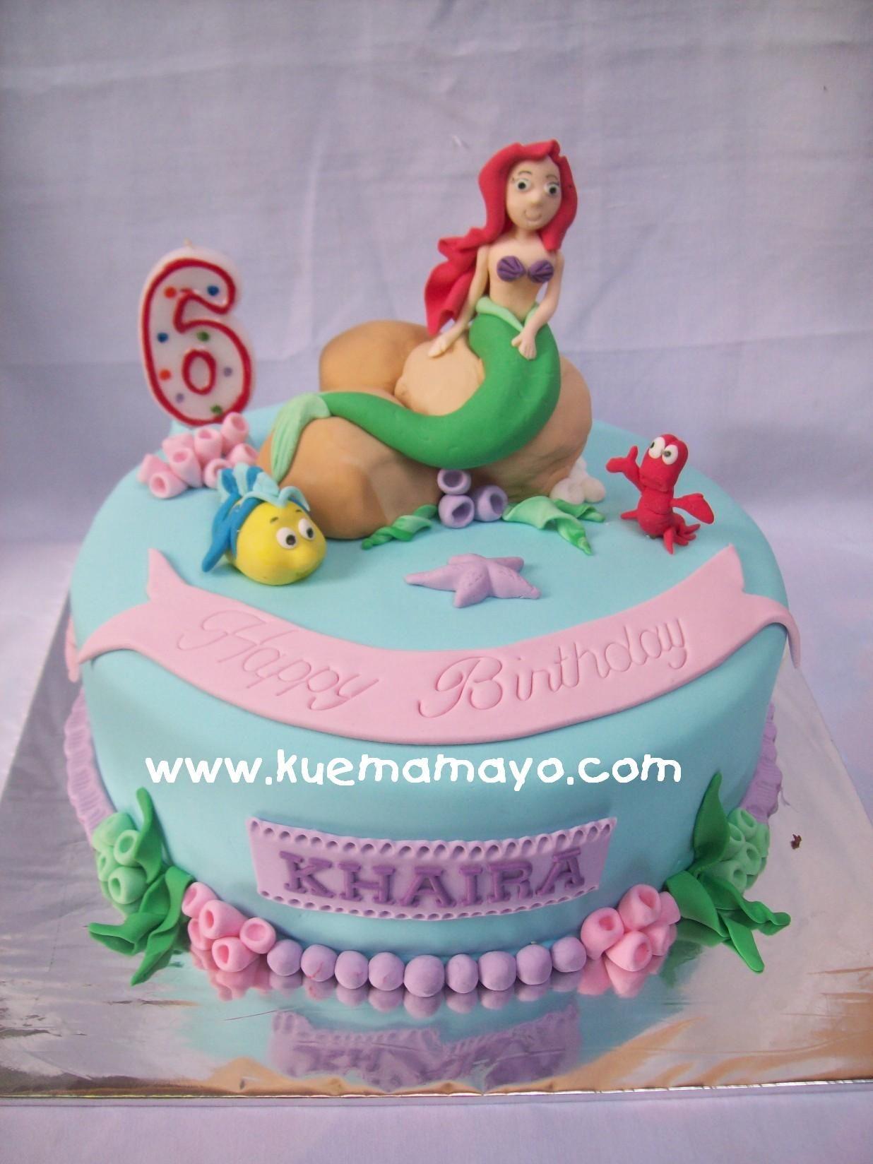 Princess Ariel Cake Khaira Mamayo Maddie s 2nd B-day ...