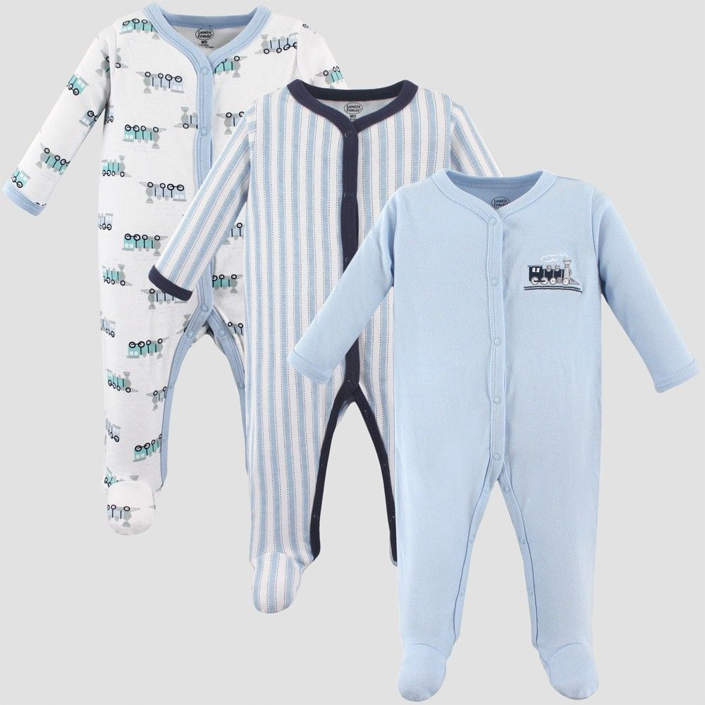 d17024066 He ll be comfy and snug wearing PJs from this 3-Piece Sleep  N Play ...
