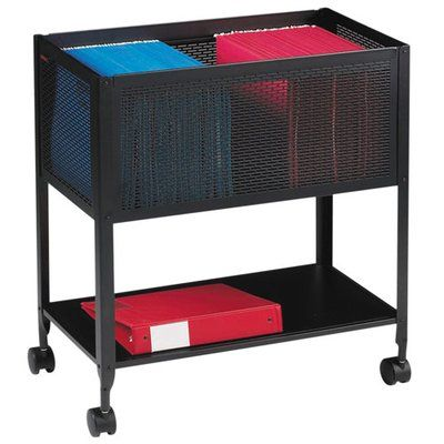 Lorell Mesh Rolling File Cart Wayfair In 2020 Lorell Black Office Furniture Rolling File Cabinet