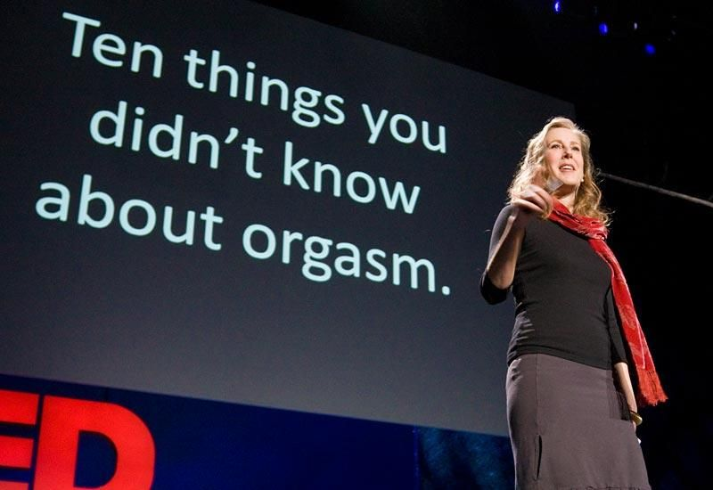 Mary Roach: 10 things you didn't know about orgasm | TED Talk | TED.com