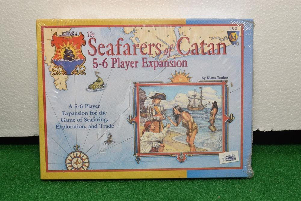 The Seafarers of Catan 56 Player Expansion (1999) NIB