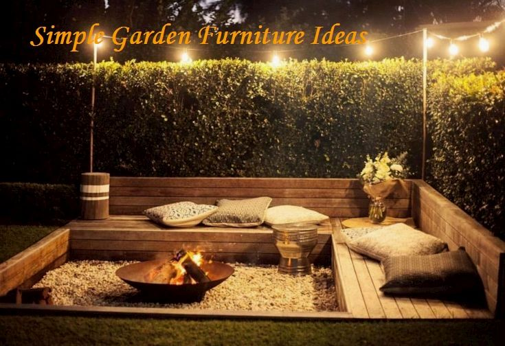 Photo of Most Affordable and Simple Garden Furniture Ideas  #furniture #diyfurniture