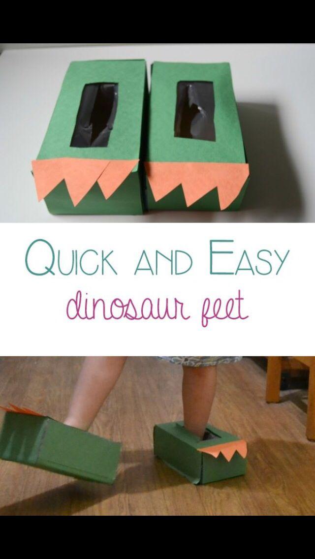 Dinosaur Feet Great For Children S Creative Side In The Classroom Or At Home Dinosaurs Preschool Dinosaur Activities Dinosaur Crafts