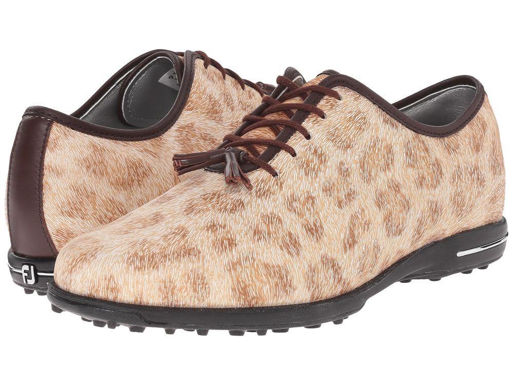Women's FootJoy Leather Cheetah Animal