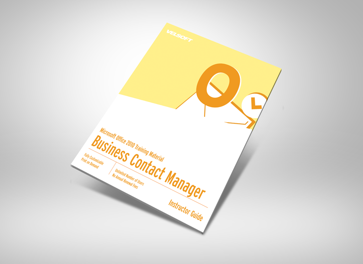 Microsoft Business Contact Manager 2010 Complete Courseware To Download This Free As A Sample Click On The Image Above Business Contact Management Business