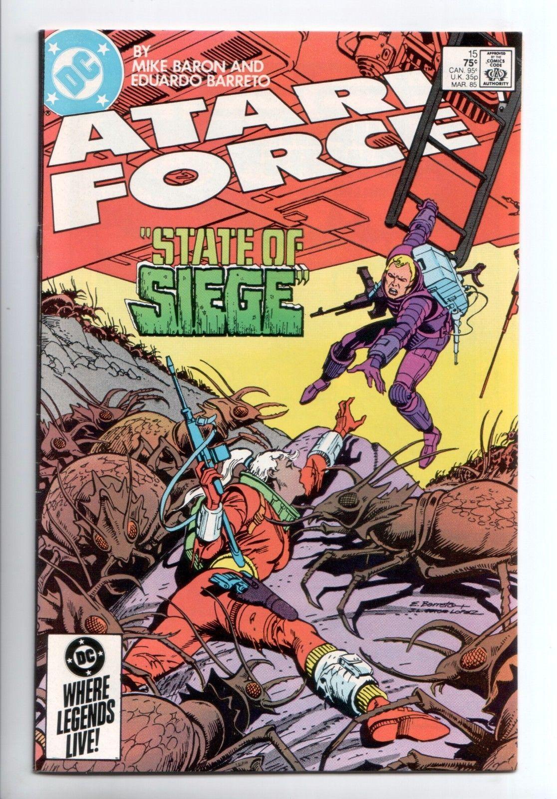 Atari force 15 dc 1985 vf comic book covers comic