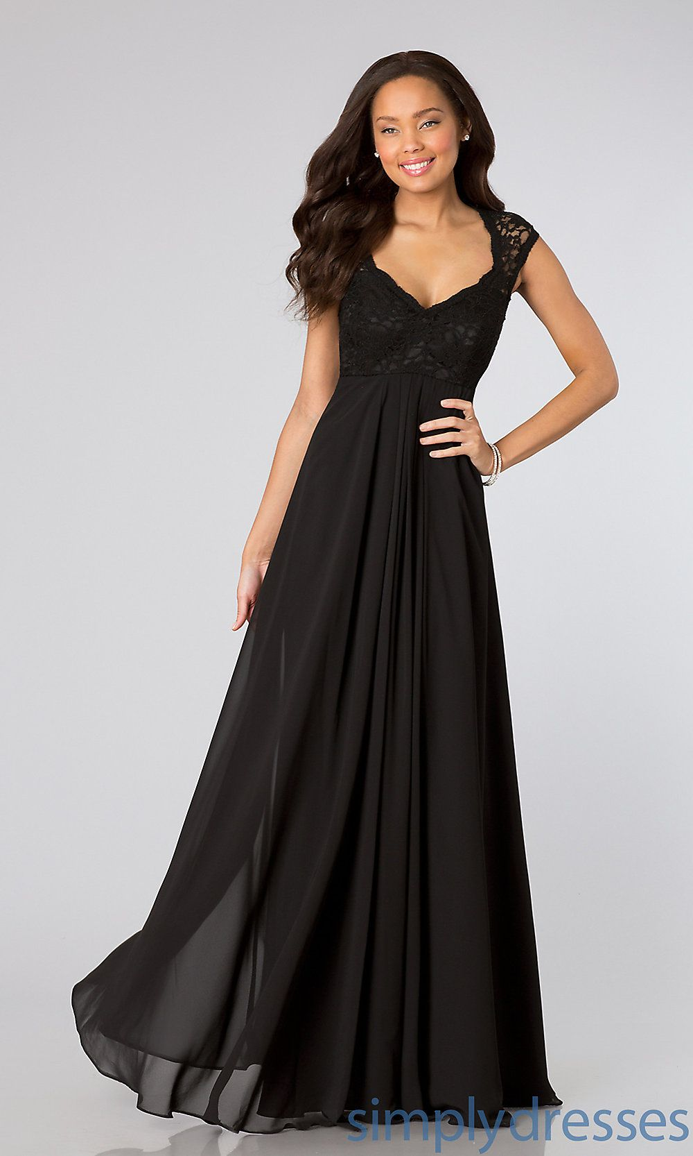 Collection Long Flowy Black Dress Pictures - Reikian