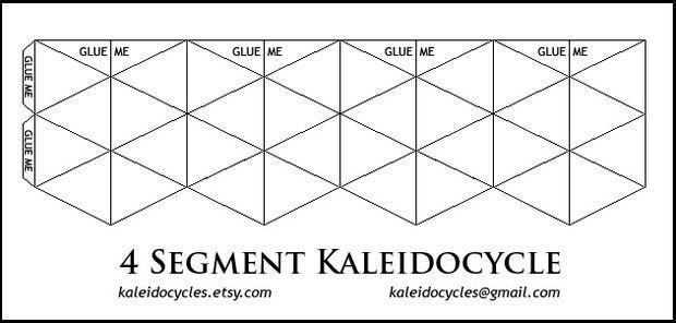 Kaleidocycles: Amazing Dynamic Papercraft | Geburtstagsgeschenke