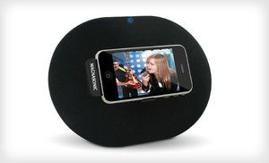Groupon -  for a Magnasonic Rotating Speaker Dock for iPods and ...
