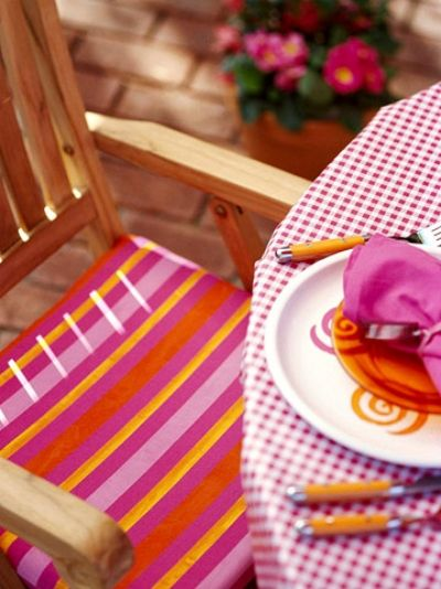 Terrassen » Die richtige Dekoration für Gartenparty auswählen
