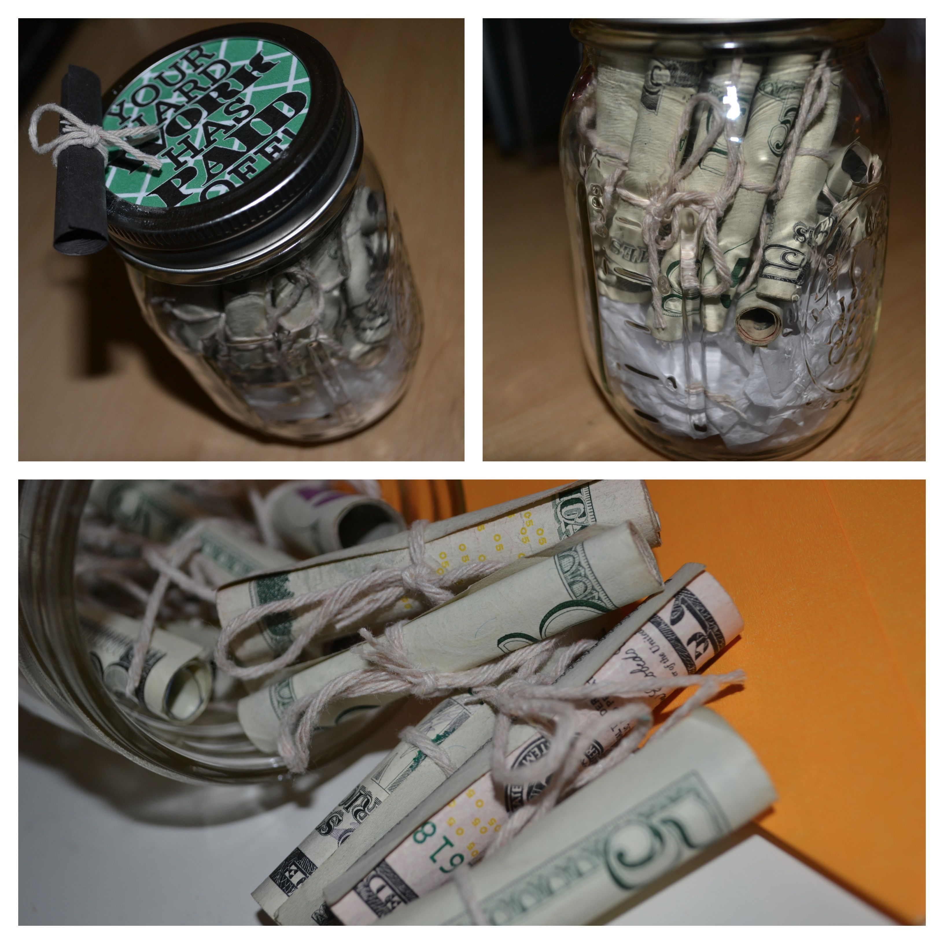 Pin By Lauren R On It S About That Time Senior Year Graduation Mason Jars Gifts Teacher Birthday Gifts