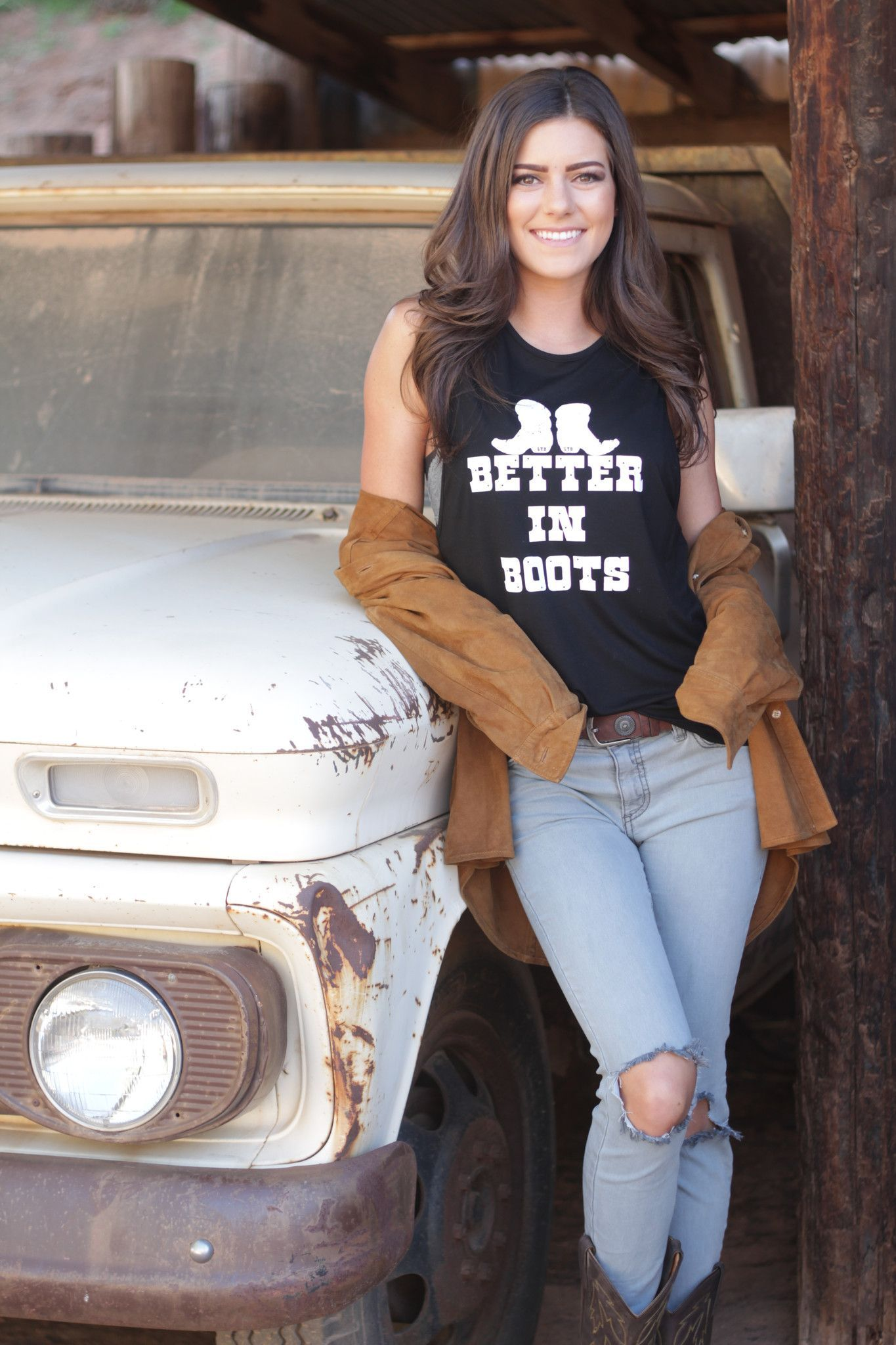 Better in boots signature tank cma fest country concerts and