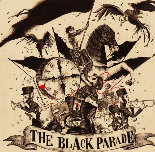 My Chemical Romance The Black Parade This Would Be Awesome As A Tattoo Possibly When I M Old Enough Duuude I S My Chemical Romance Black Parade Romance