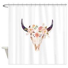 Lyingcat Mug Flower Shower Curtain Flower Shower Boho Decor