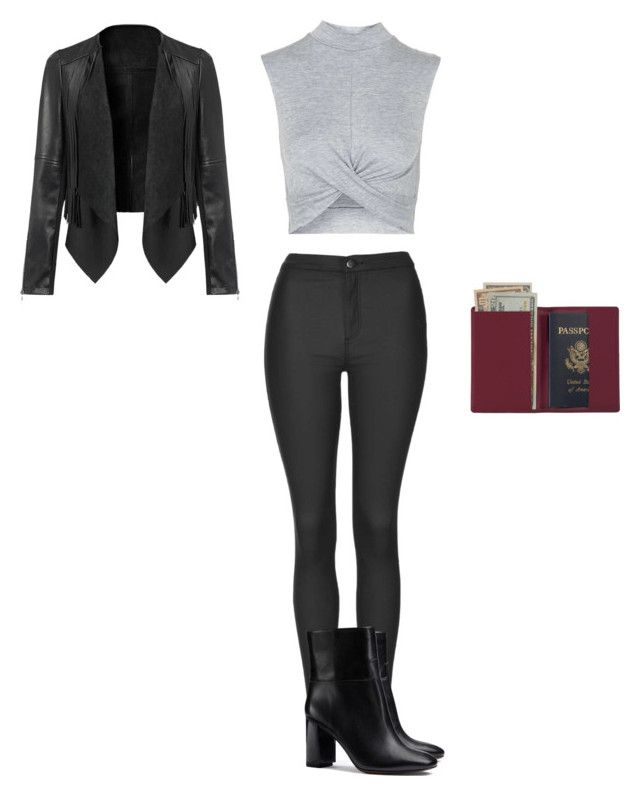 """""""Untitled #1259"""" by maxinehearts ❤ liked on Polyvore featuring Topshop, Tory Burch, Royce Leather, women's clothing, women's fashion, women, female, woman, misses and juniors"""