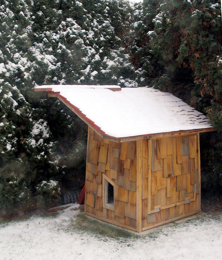 Cedar-Sided Poultry House - Modern Homesteading