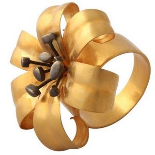 Rebecca Kovin lily ring