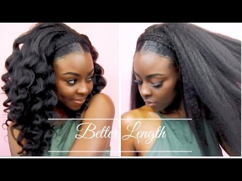 Textured Clip Ins Are Another Trend Of Protective Styling Which Is Even Fas Clip In Hair Extensions Braided Hairstyles For Wedding Black Hair Protective Styles