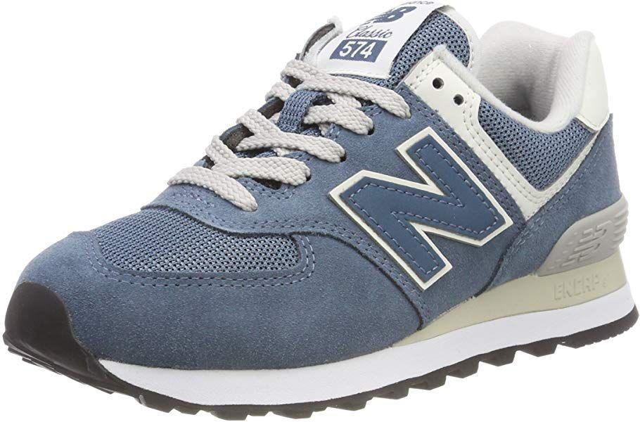 on feet shots of buy good incredible prices New Balance Damen 574v2 Sneaker, Blau (Light Petrol Crb ...