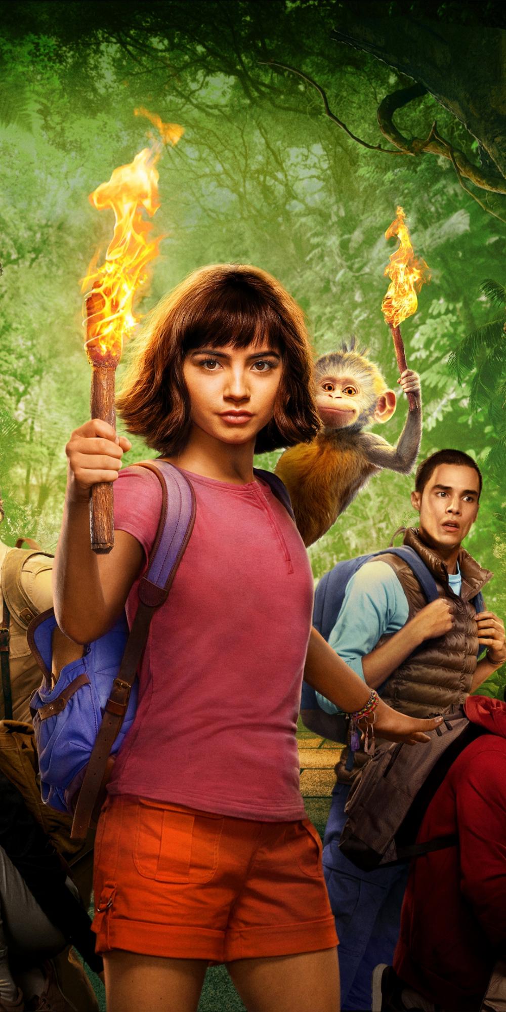 1080x2160 Dora The Explorer Dora And The Lost City Of Gold 2019 Movie Wallpaper Lost City Of Gold Dora The Explorer Dora Movie
