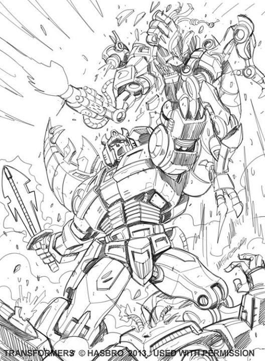 Transformers: Legends Marcelo Matere Artwork | dibujos para colorear ...