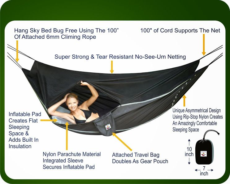 Put A Little Umbrella In Your Drink Hammock Bliss Sky Bed Bug Free Hammock Review And Giveaway I Just Entered T Hanging Tent Hammock Camping Bug Free