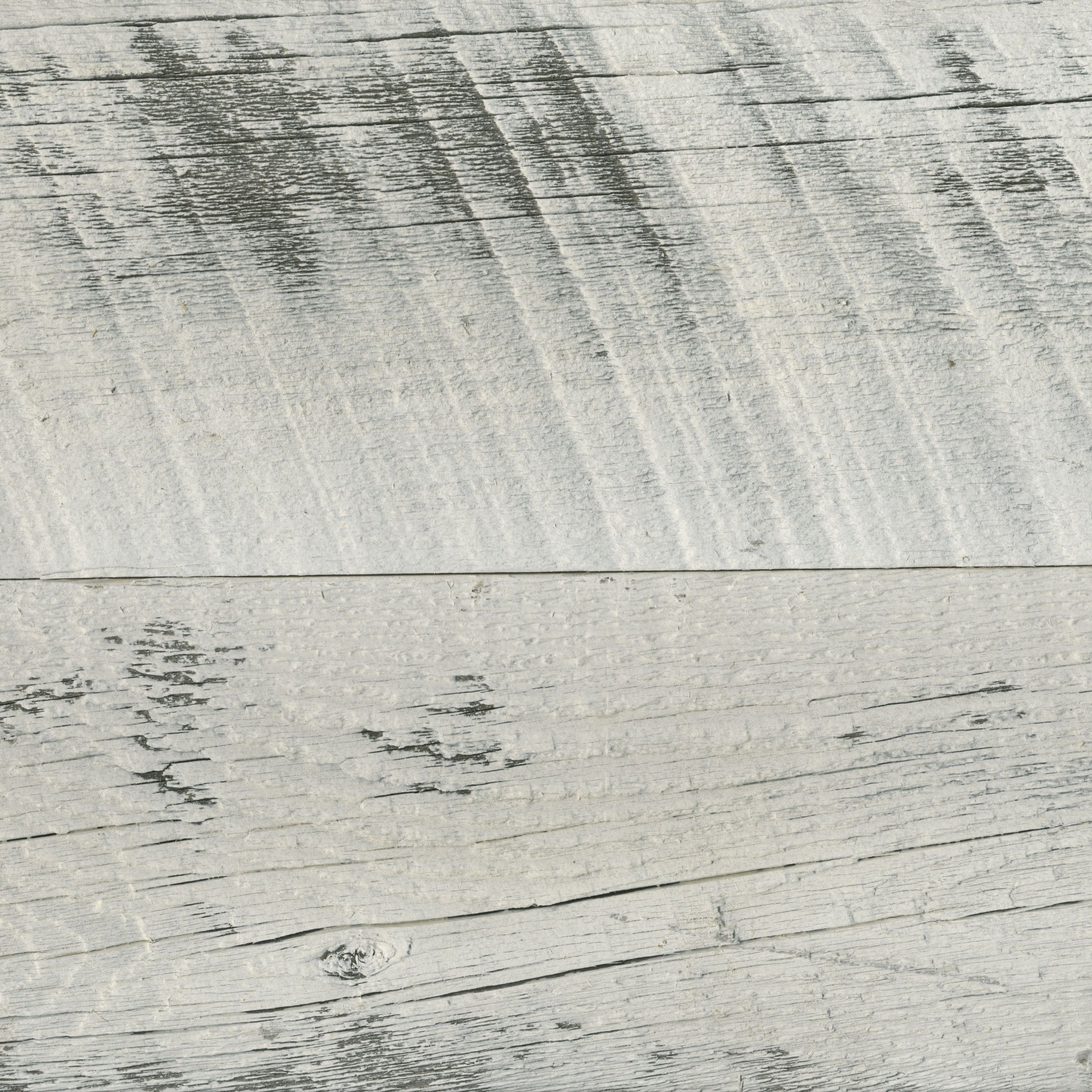 Reclaimed Weathered Wood With Rustic White Finish