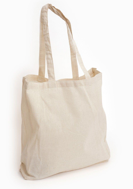 Printed Logo Tote Bag Shopper Grocery Shopping 100/% Cotton Bags