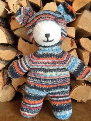 Regia 6369 Teddy Free Charity Knitting Patterns Pinterest