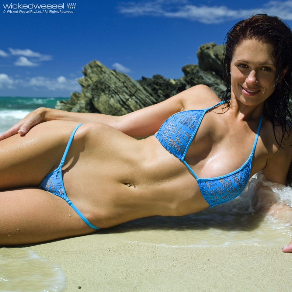 Hot bikini photos car