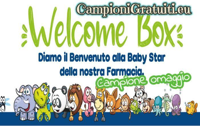 Campione Gratuito Welcome Box offerta da Baby Star