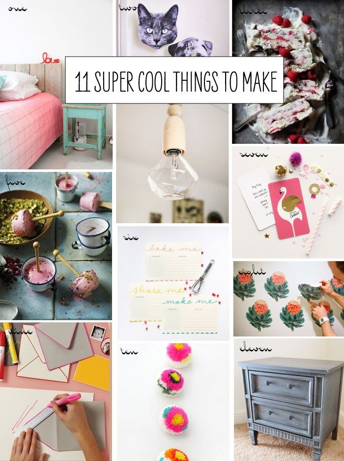 11 super cool things to make craft diy ideas and diys for Super cool diy projects