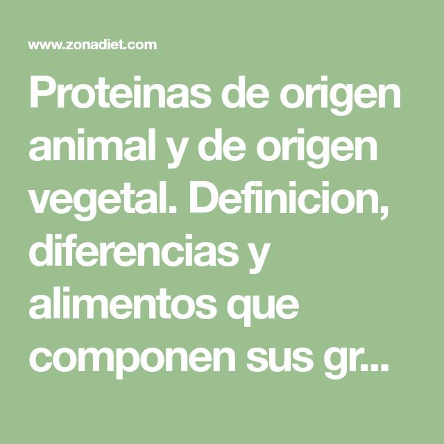 Proteinas De Origen Animal Y De Origen Vegetal Definicion Diferencias Y Alimentos Que Componen Sus Grupos Proteínas Con Alto Valor Biológico Calidad De Las