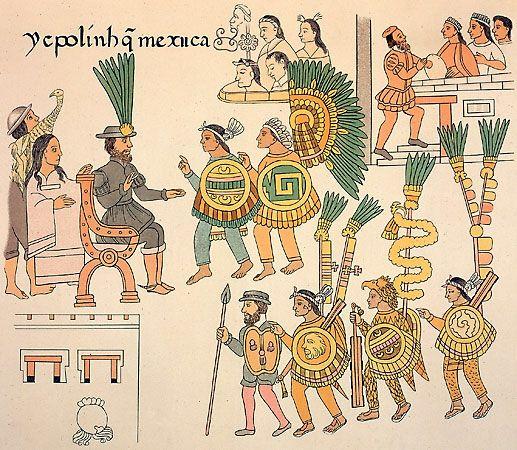 Antes De La Llegada De Cristobal Colon A America Los Aztecas