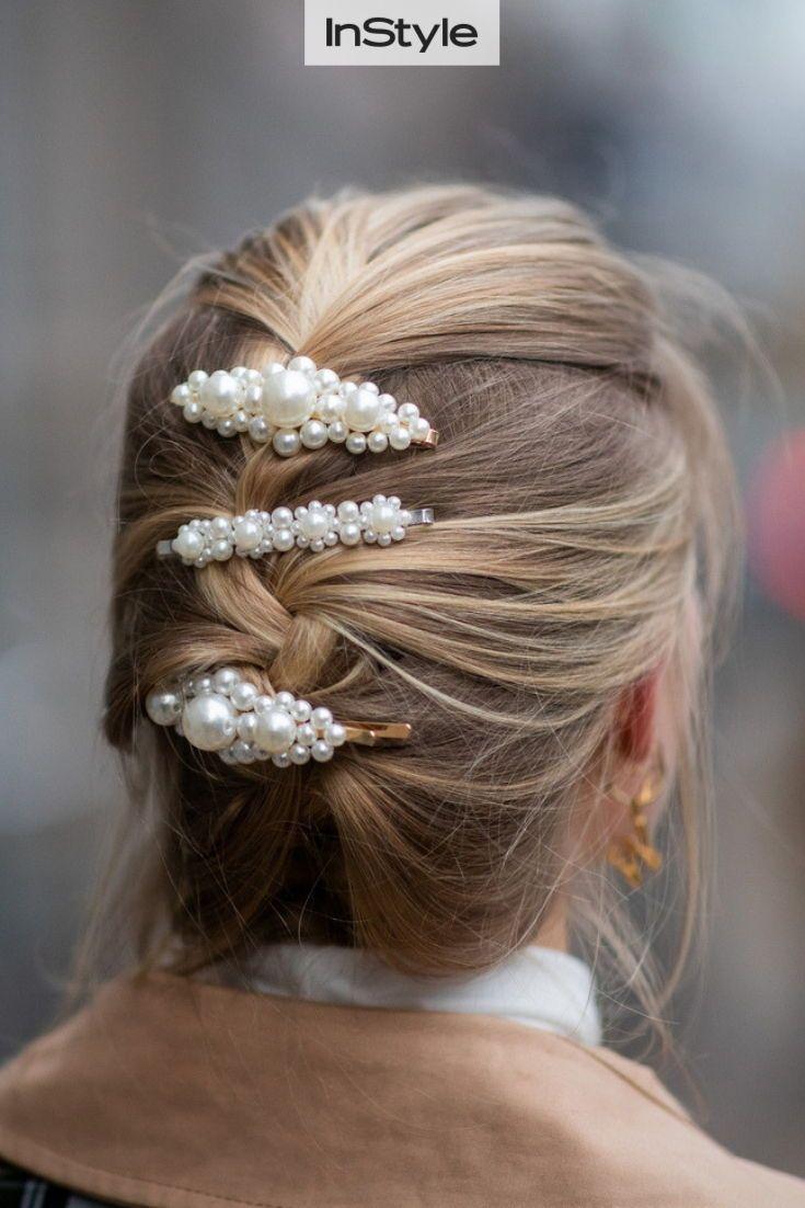 Haarspangen Frisuren