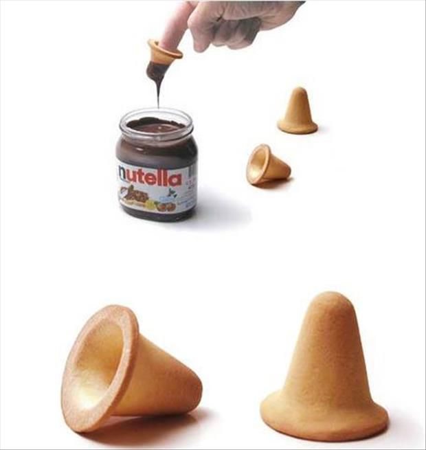 What?! Sweet! To Get More Nutella, Though, Iu0027d Just · Creative ProductsFunny  ProductsFinger FunKitchen ProductsKitchen GadgetsKitchen ...