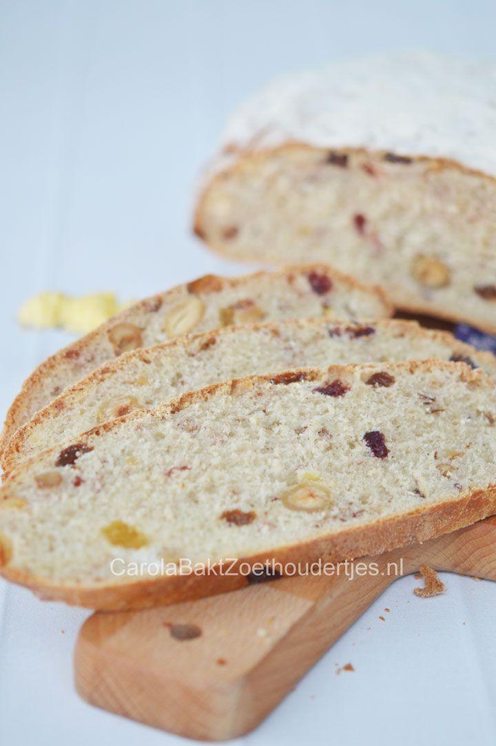 Brood van oliebollenmix - Carola Bakt Zoethoudertjes