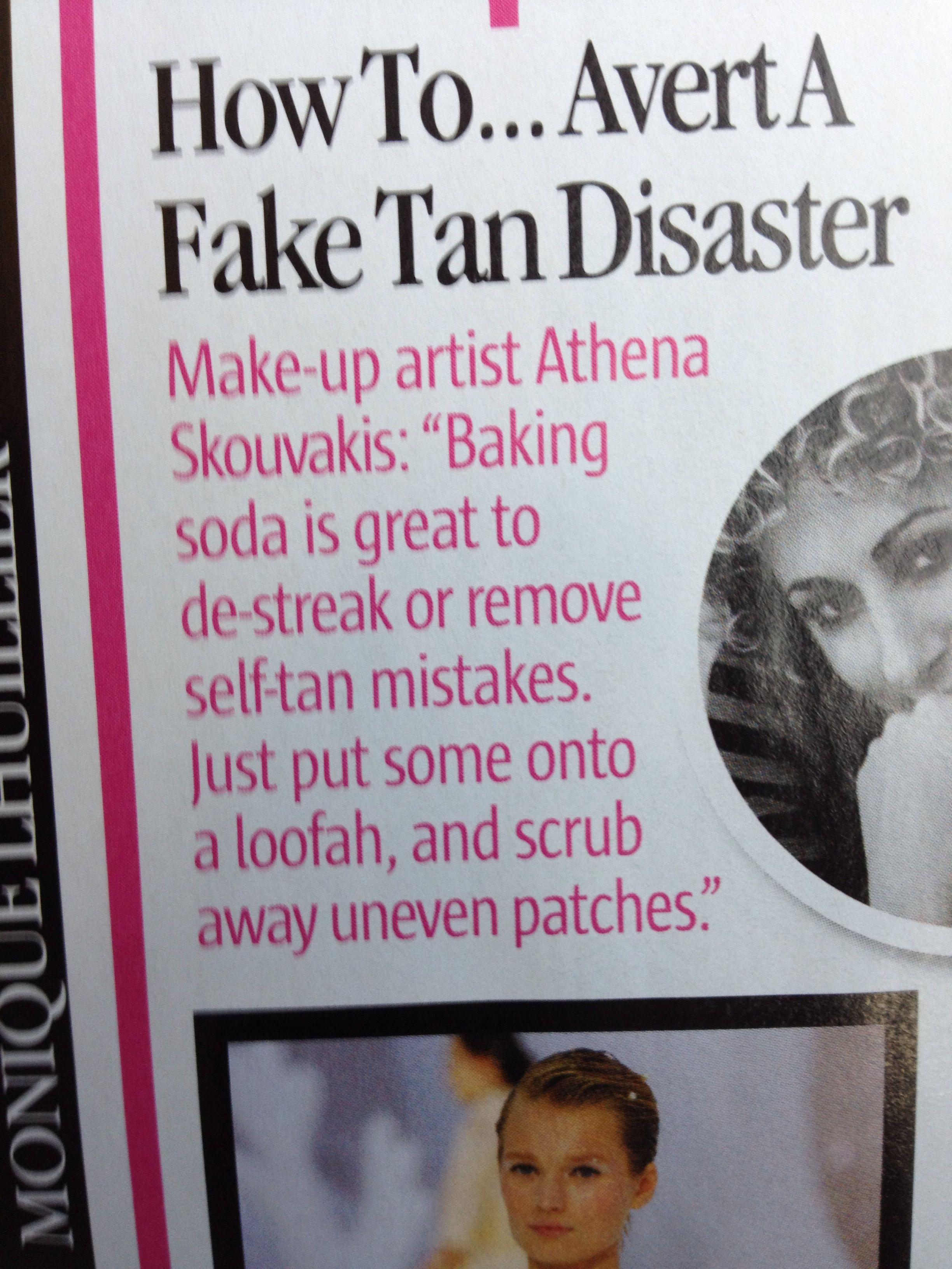 Fake tan disaster tips fake tan tan how to remove