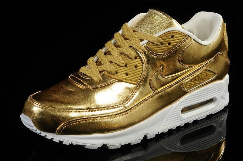 nike air max 1 mujer dorados