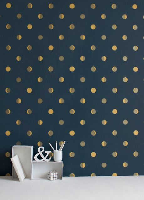 Bartsch_papier_luneencre project baldino residence Pinterest - repeindre du papier peint
