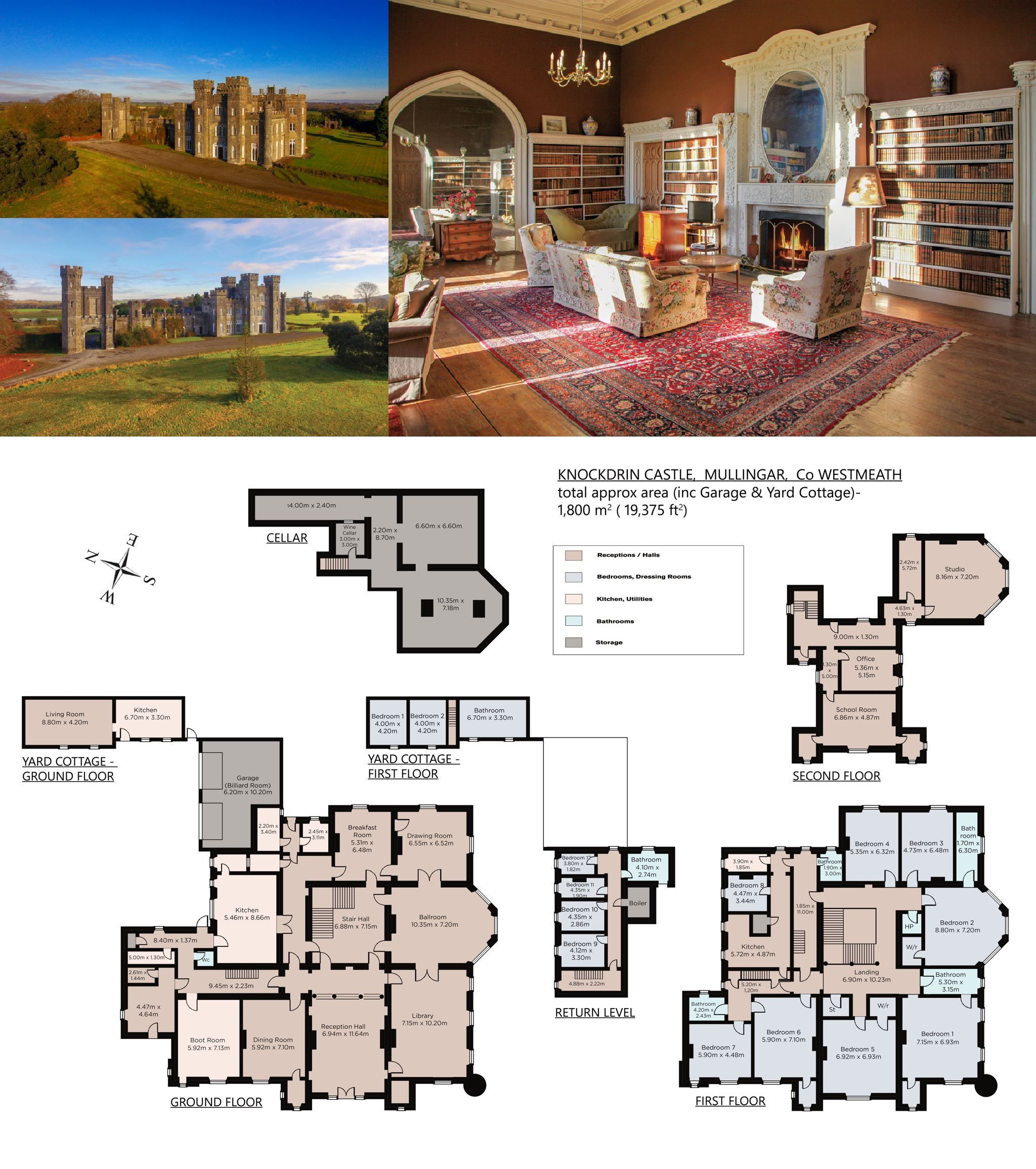 Knockdrin Castle Mullingar County Westmeath Ireland Leading Estates Of The World In 2021 Castle Gothic House Castle House