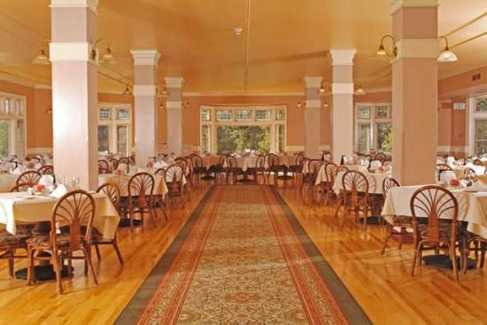 Lake Yellowstone Hotel Dining Room  Interior Paint Color Schemes Delectable Lake Hotel Dining Room Inspiration Design