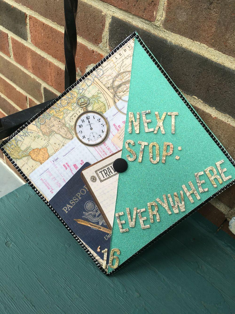 My Graduation Cap In The Top Left Corner It Reads Quot Thank