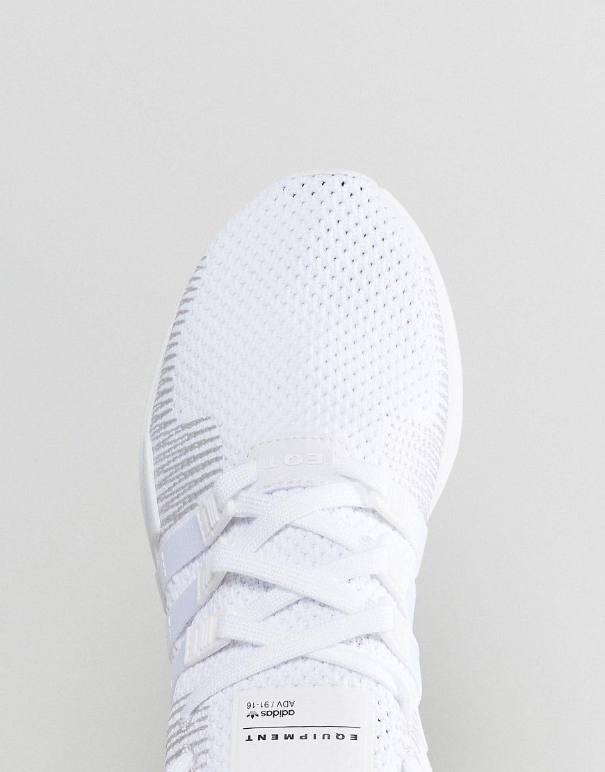 newest 18429 1c596 adidas Originals EQT Support ADV Primeknit Sneakers In White ...