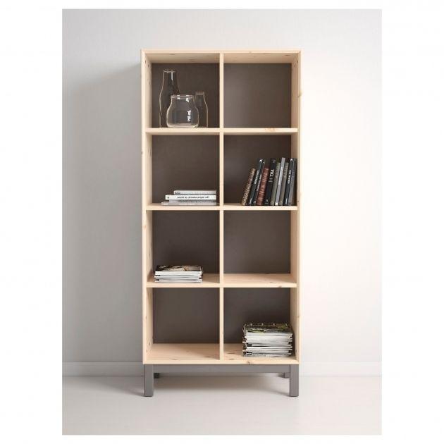 Stylish Norns Bookcase Ikea Unfinished Pine Bookshelves