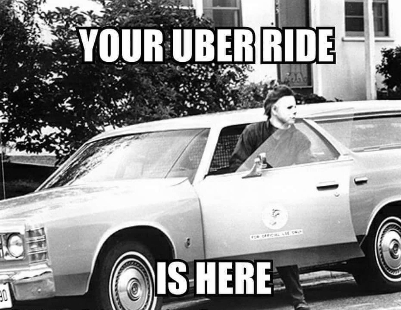 Michael Myers Driving